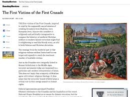historians on susan jacoby s new york times essay on the first  historians on susan jacoby s new york times essay on the first crusade