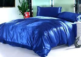 royal blue quilt silk royal blue bedding set satin sheets king queen full twin size duvet royal blue quilt