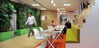 Colorful office space interior design Yellow The Colorful Offices Of Cheil Nutritionfood The Colorful Offices Of Cheil Office Snapshots