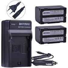 <b>Batteries</b> LCD Charger for Sony NP-F770 UK 2× NP-F750 <b>5600mAh</b> ...