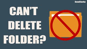 how to delete a folder that won t delete solved windows 7 8 10 you