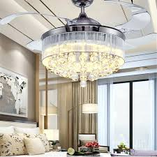 top 79 supreme diy ceiling fan chandelier combo with fans chandeliers attached crystal luxury living room