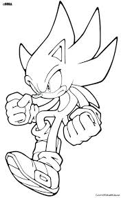 Sonic Running Coloring Pages Sonic The Hedgehog Coloring Pages Sonic
