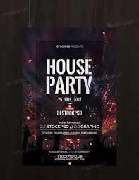 Free Party Flyer Templates House Party Download Free Psd Flyer Template Free Psd