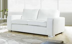 Simple White Leather Sofa Bed Gallery Of Great Modern With Design Decorating