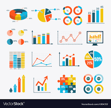 Vector Graphs And Charts Infographic Set Graph And Charts Diagrams