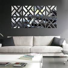 mirrored pictures wall art