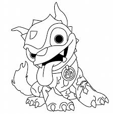 Skylanders Coloring Pages Coloring Colouring