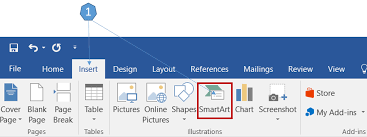 Smart Chart Word How To Create An Organization Chart Using Smartart In Word