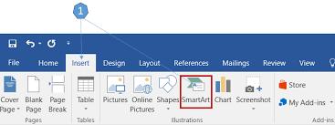 Smart Organizational Chart How To Create An Organization Chart Using Smartart In Word