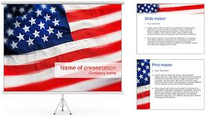 American Flag Powerpoint Background 82920 Isoftweb