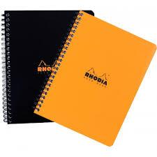 Graph Paper Spiral Bound Rhodia Notebook