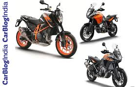 2018 ktm adventure bikes. contemporary 2018 upcoming new ktm bikes at auto expo 2018 inside adventure