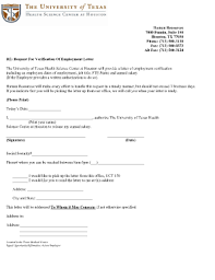 letter of employment confirmation 36 printable employment verification letter template forms