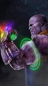 Thanos With Infinity Gauntlet iPhone ...