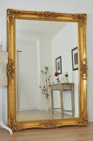 Ornate Wall Mirror Gold