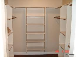 building shelves in closet how