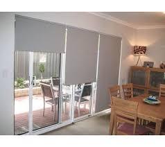 patio door roller blinds.  Blinds 3 Rollerblinds On A Large Sliding Door Eachu2026 For Patio Door Roller Blinds