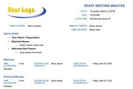 Meeting Minutes Format Sample Free Meeting Minutes Templates Instructions Smartsheet