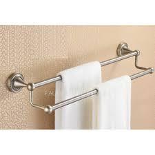 double towel bar brushed nickel. Double Towel Bar Brushed Nickel