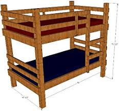 rustic bed plans. Wonderful Plans Bunk Bed Plans Rustic Twin By Bunkplanswordpresscom To Plans D