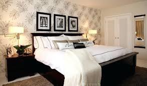 master bedroom paint ideas. Master Bed Decorating Ideas Palm Leaves Wallpaper Elegant Bedroom Beautiful Best Paint .