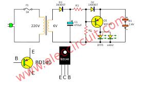 3 simple emergency light circuit many Dual Lite Emergency Ballast Wiring Diagram 277 Volt Light Wiring Diagram