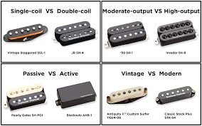 pickups part pickup types your tone seymour duncan pickups vs pickups all these terms apply to both electric guitar