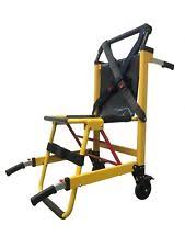 emergency stair chair. EMS Stair Chair Medical Emergency 2-Wheel Patient Deluxe Evacuation I
