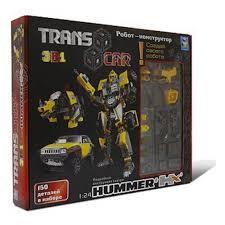 <b>Конструктор 1TOY</b> T54522 TRANS CAR Робот- ХАММЕР HX. <b>1</b>:24 ...