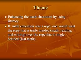 Intertwining Literacy Into The Mathematical Rope of Education Adam Sarver  October 7 th, ppt download