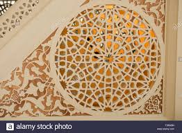 Applied Design Examples Example Of Applied Ottoman Art Patterns Stock Photo