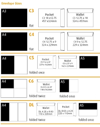 Size Of Envelopes Envelope Size Guide Aos Online