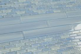 Glass Tiles For Kitchens Pretty Blue Glass Tile Bathroom On Green Glass Mosaic Kitchen