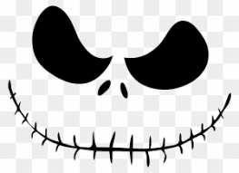 The nightmare before christmas uploaded by captain paradox. Jack Skellington The Nightmare Before Christmas Jack Skellington Face Clipart Free Transparent Png Clipart Images Download