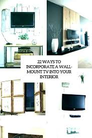 hide wires mounted how to behind stand cord hider for wall decor conceal tv above brick