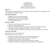 Work History Resume Template Party Proposal Sample Internship How To