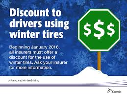 drivers with winter tires eligible for insurance