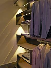 Closet lighting track lighting Led Dimmers Homedit Practical Closet Lighting Ideas That Brighten Your Day
