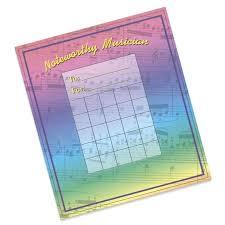 Rainbow Individual Incentive Charts