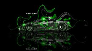 monster energy mclaren p1 fantasy plastic car