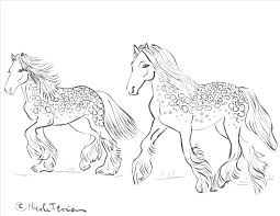 Race Horse Coloring Pages Printable Free Mustang To Print Co Out