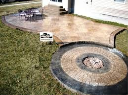 how much does a concrete patio cost stamped uk diy per sq ft inside how much