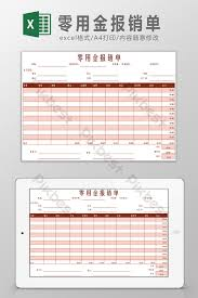 petty cash reimbursement template petty cash reimbursement form excel template excel