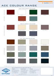 Palliside Colour Chart Gutter And Fascia Forever Boards