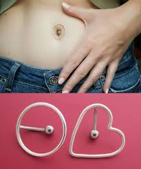 Top Down Belly Rings That Encircle Your Belly Button Piercing