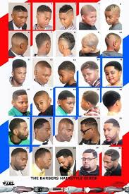Barber Hairstyles Chart Hairstyle Chart For Boys
