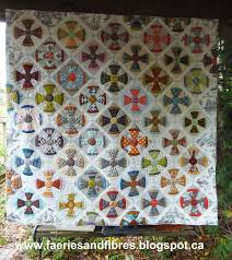28 best Steam Punk Quilt images on Pinterest | Bed runner, Book ... & Rowdy Flat Library Quilt and a Tutorial for straightening the edge of a  hexagon quilt top (Faeries and Fibres) Adamdwight.com