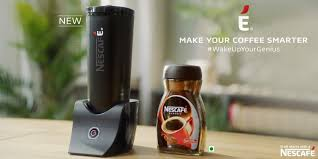 É by nescafé is a smart coffee maker with bluetooth connectivity, sleek design, insulated body and silent preparation features. E By Nescafe Smart Coffee Maker