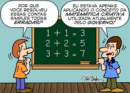 Resultado de imagem para charges matematicas